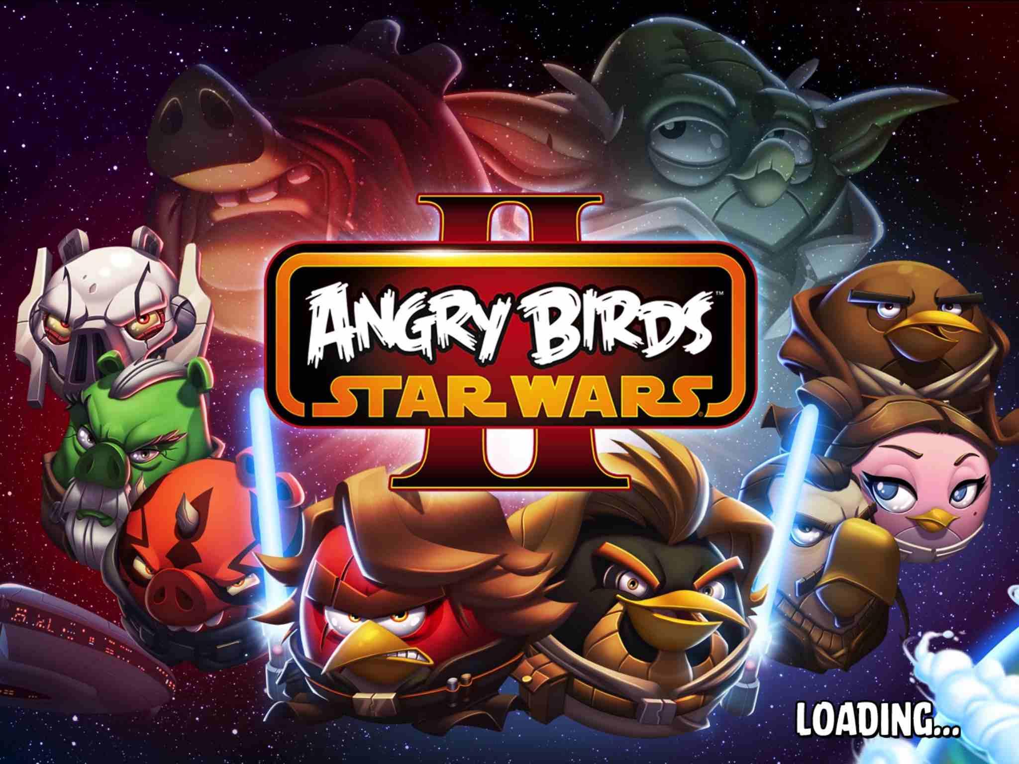 Angry Birds: Star Wars II on iPad