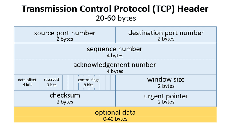Transmission Control Protocol (TCP) Header