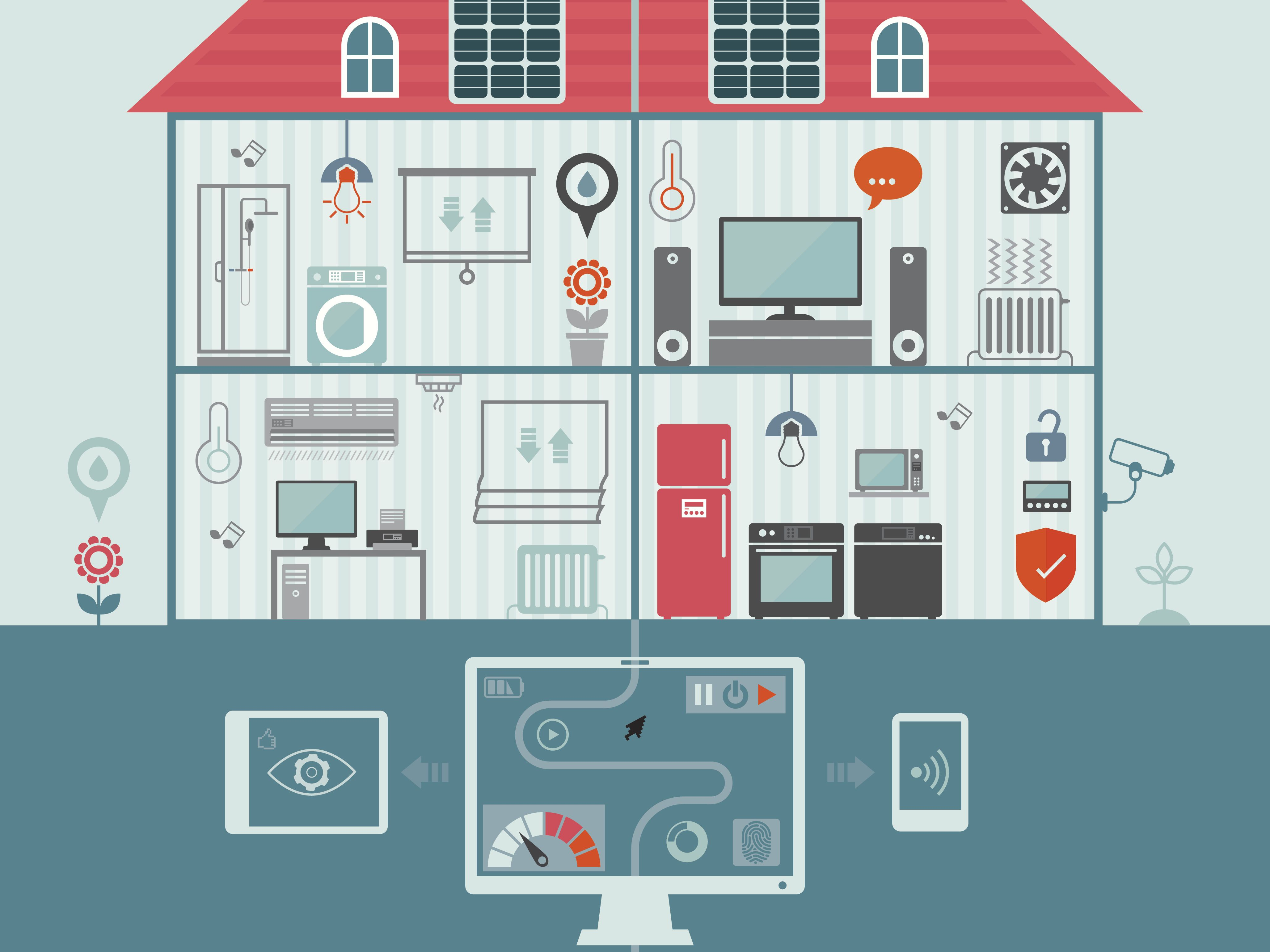 Wiring Closets For Home Network Automation Equipment