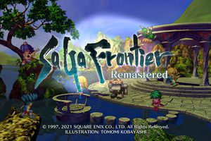 SaGa Frontier Remastered title screen
