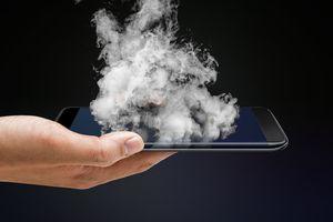 Smoky iPhone