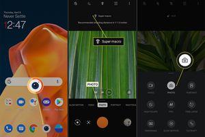 OnePlus 9 camera mode customization options