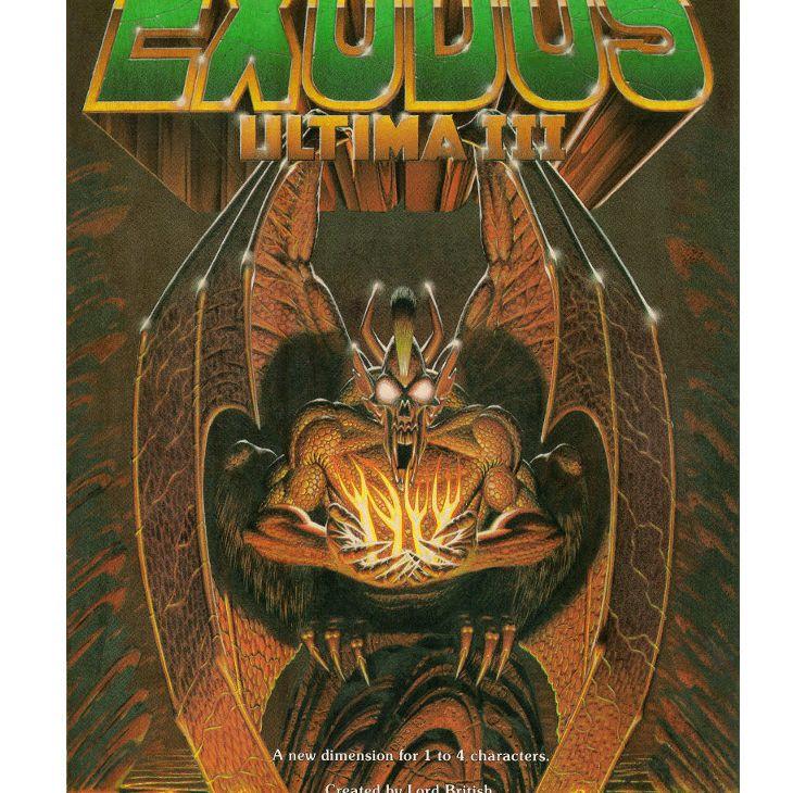 Ultima III Box Art