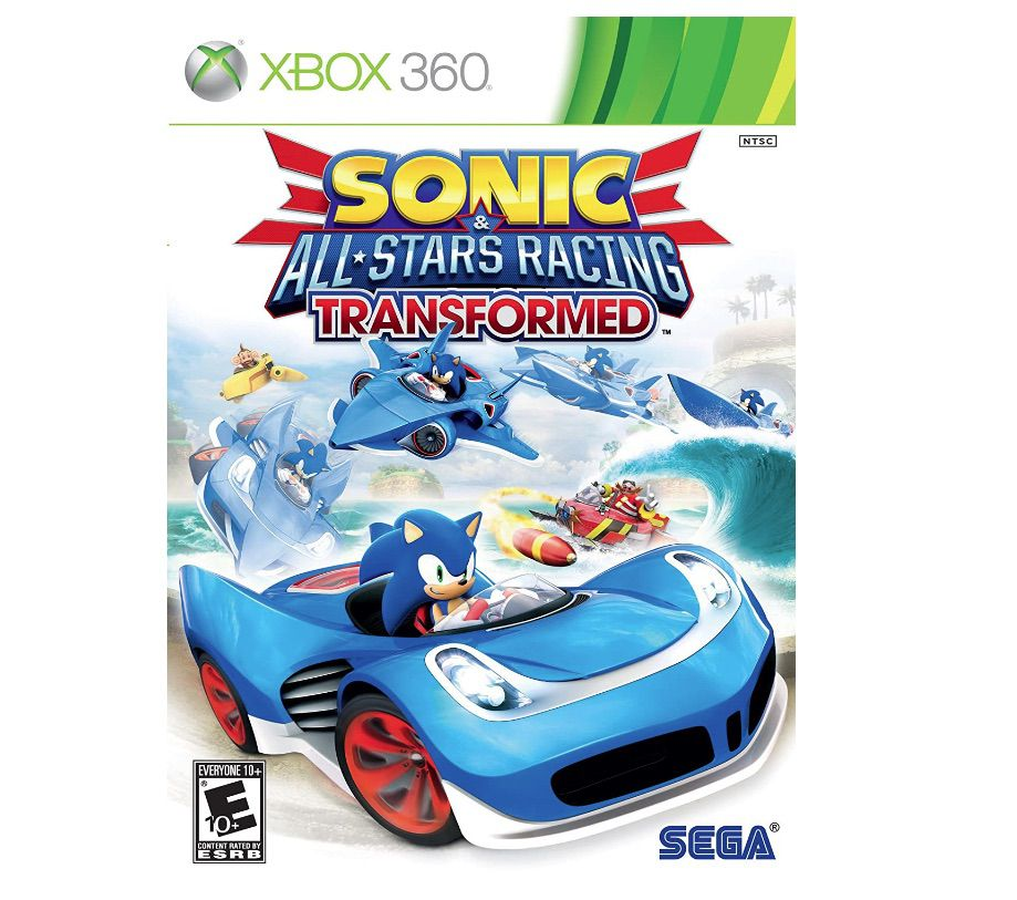 Sonic All Stars Racing Transformed for Xbox 360
