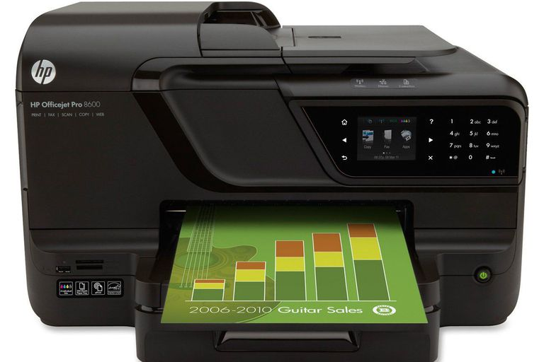 HP OfficeJet Pro 8600 All-in-One Series