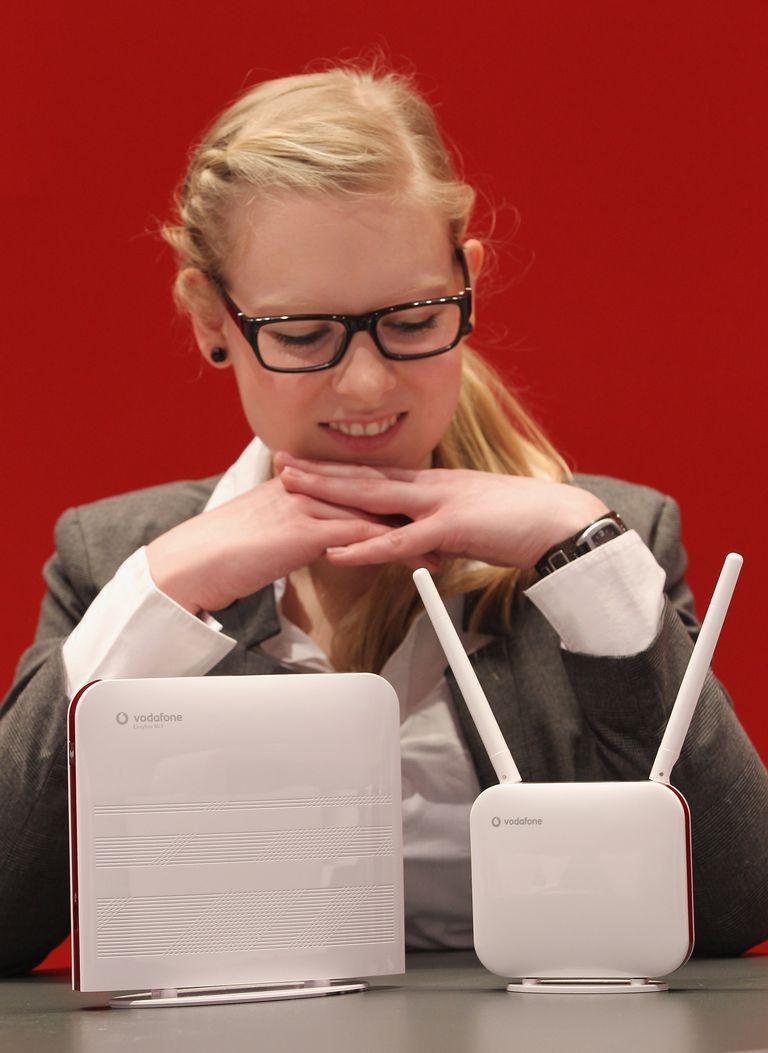 Vodafone LTE Router and Modem (CeBIT 2011)