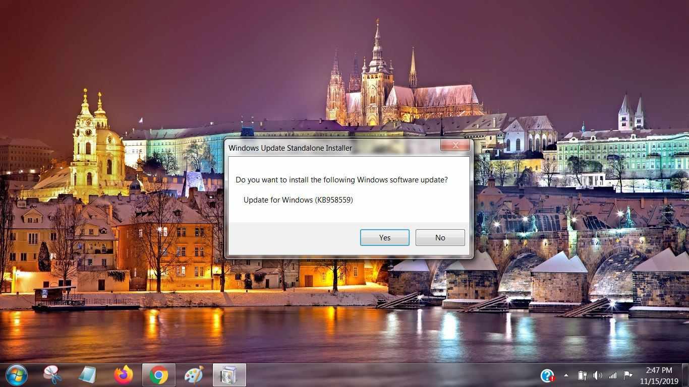 Windows Update Standalone Installer