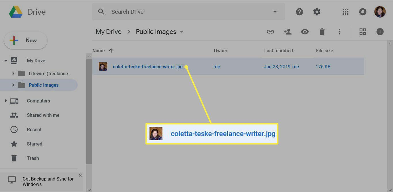 how to upload image on Google using Google Drive