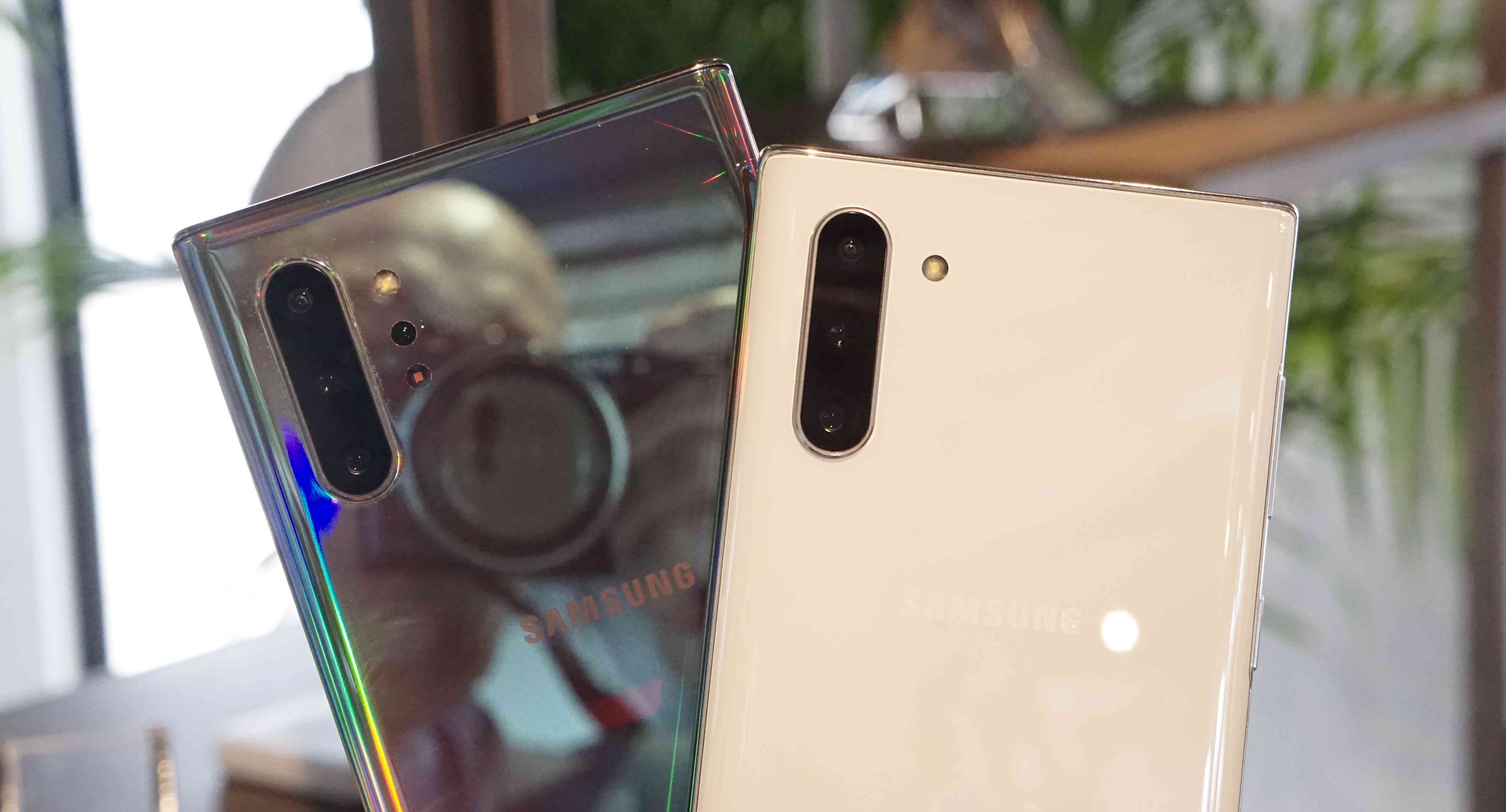 Samsung Galaxy Note10+ and Note10