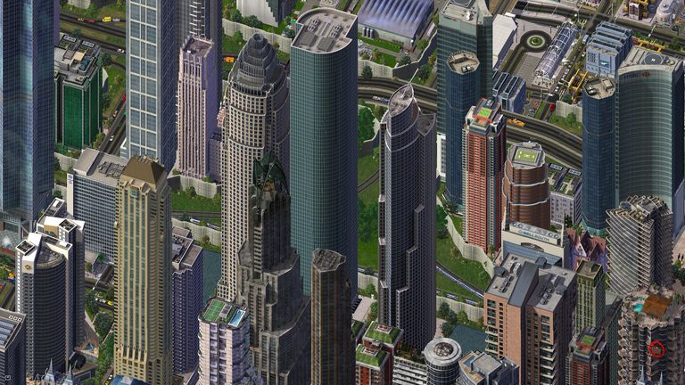 Simcity 4 Downtown Rail Junction
