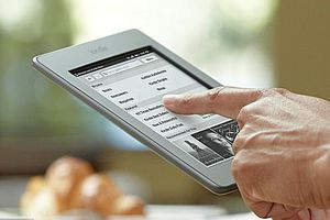 The Kindle Owners' Lending Library allows Amazon Prime members to borrow an e-book per month for free.