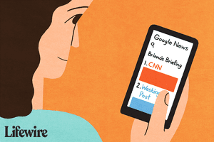 Google News on smartphone