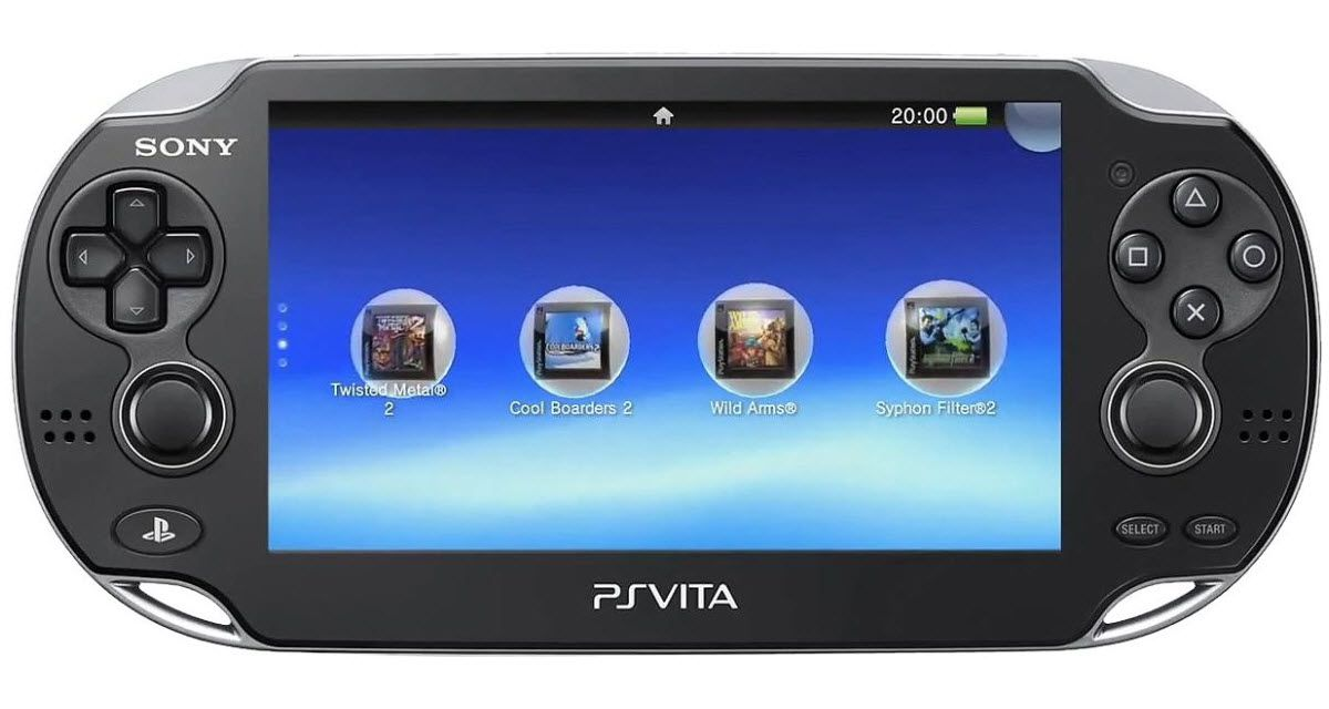 The Sony PSP Vita