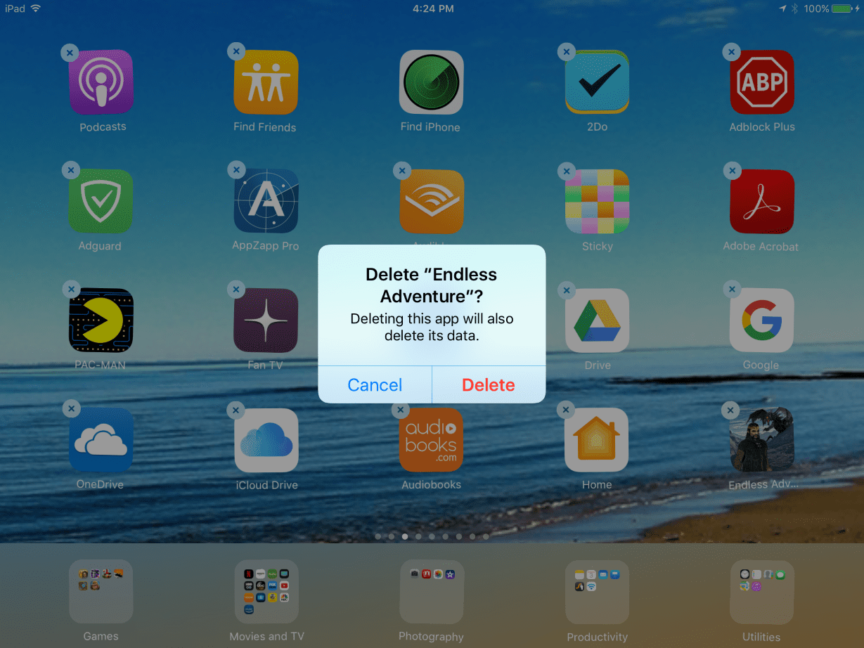 Delete imported photos from ipad How to Manage the Storage on Your iPad (with)