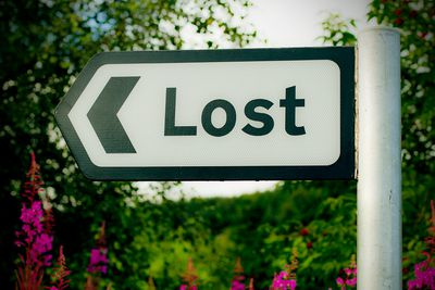 Signpost to Lost