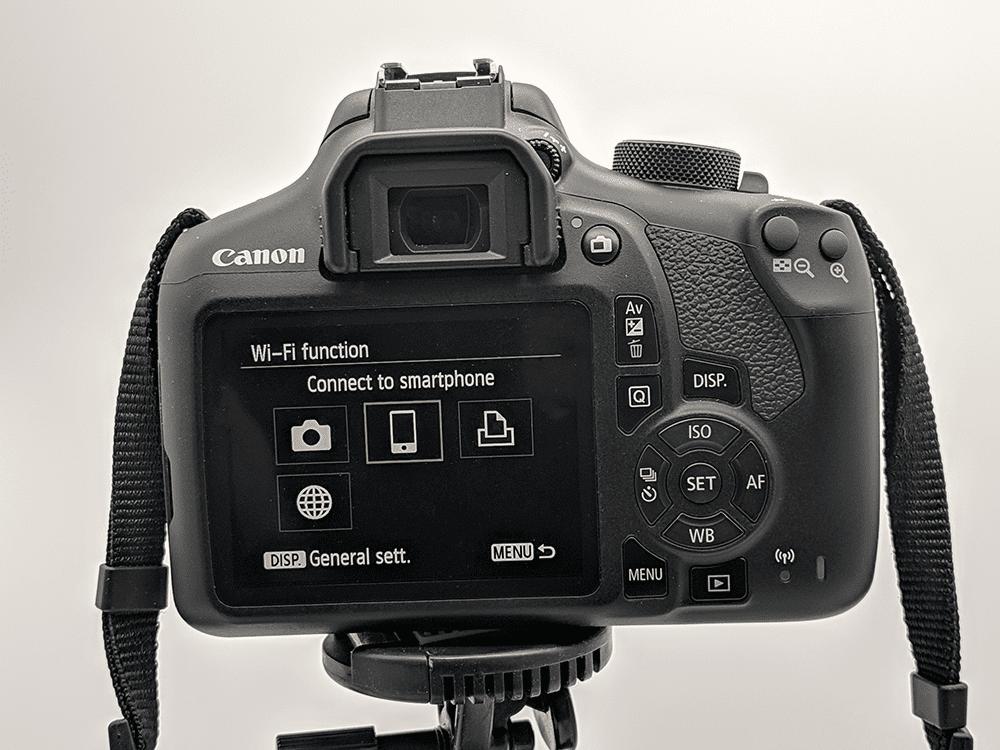 A Canon DSLR.