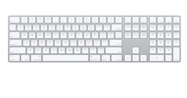 Apple extended keyboard.