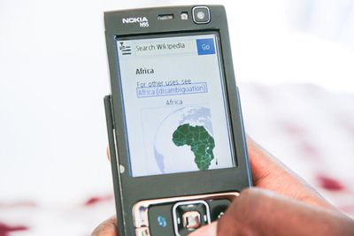 An app displayed on a mobile device.
