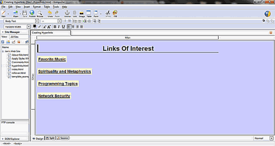 How to Create a Hyperlink in Dreamweaver