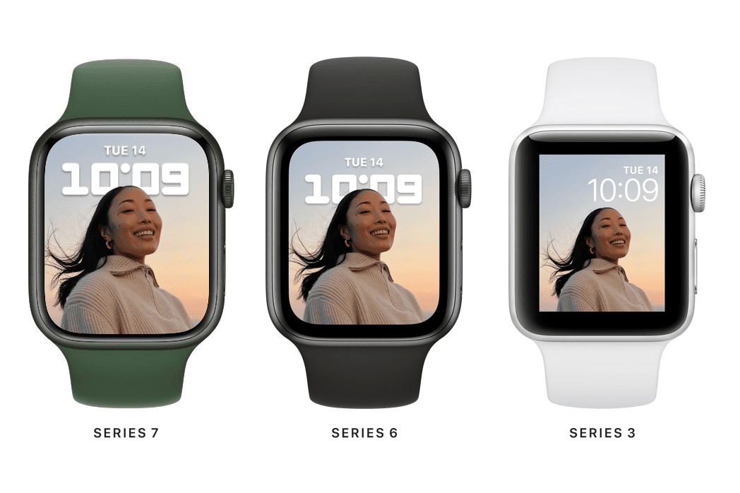 Apple Watch Series 7 vs 6 vs 3