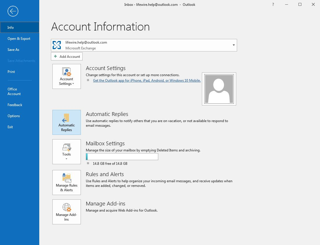 How to Set Automatic Replies in Outlook