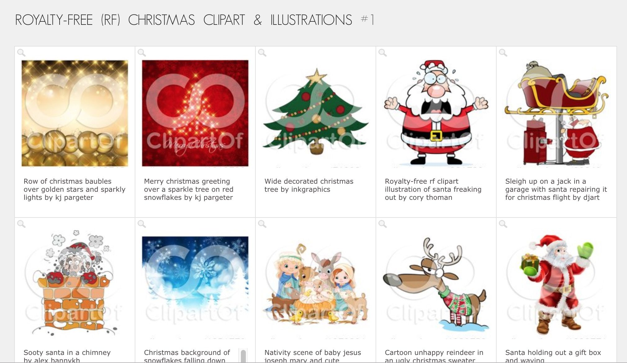 Favorite Sites for Christmas Clip Art