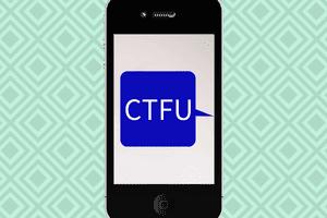 CTFU texting acronym meaning