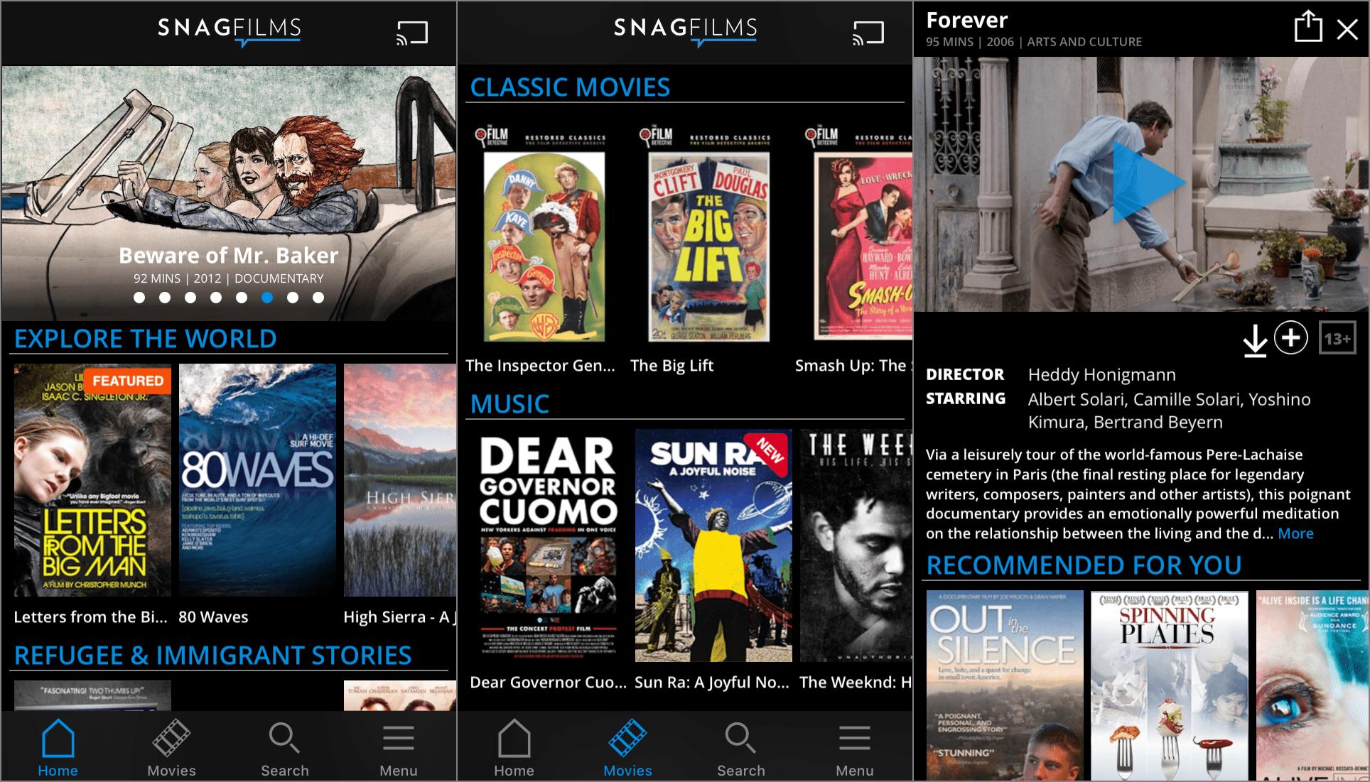 best movie watching app
