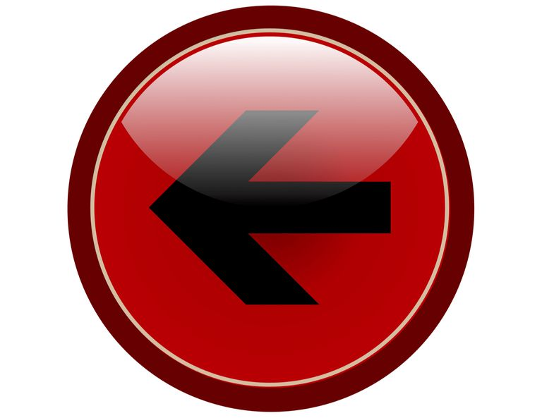 Red back button