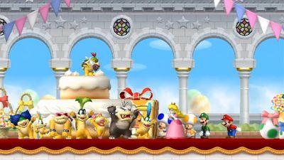 Screenshot from New Mario Bros.