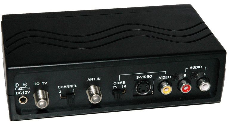 The Role of an RF Modulator in a DVD Player/TV Setup