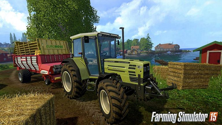 Farming Simulator 15 screen 1