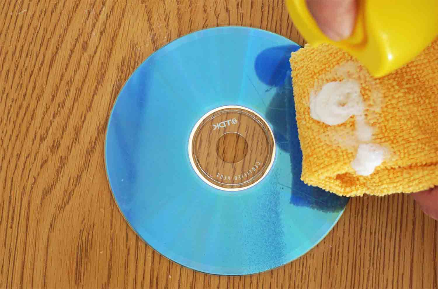 How to Fix A Scratched CD