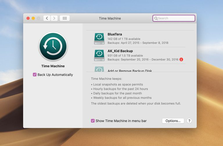 how to delete seagate backup files mac