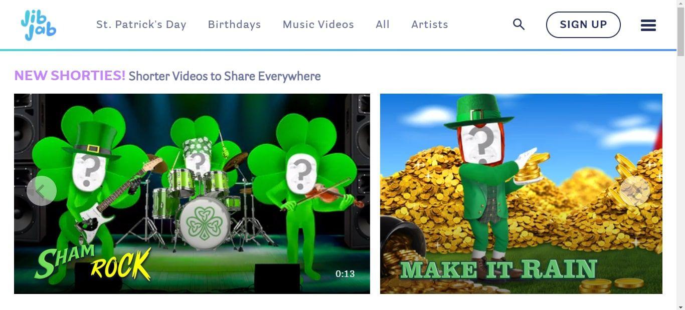 JibJab video cards website