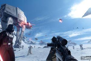 SW Battlefront screen