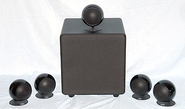 Orb Audio Mod1X 5.1 Channel Speaker System with SubONE