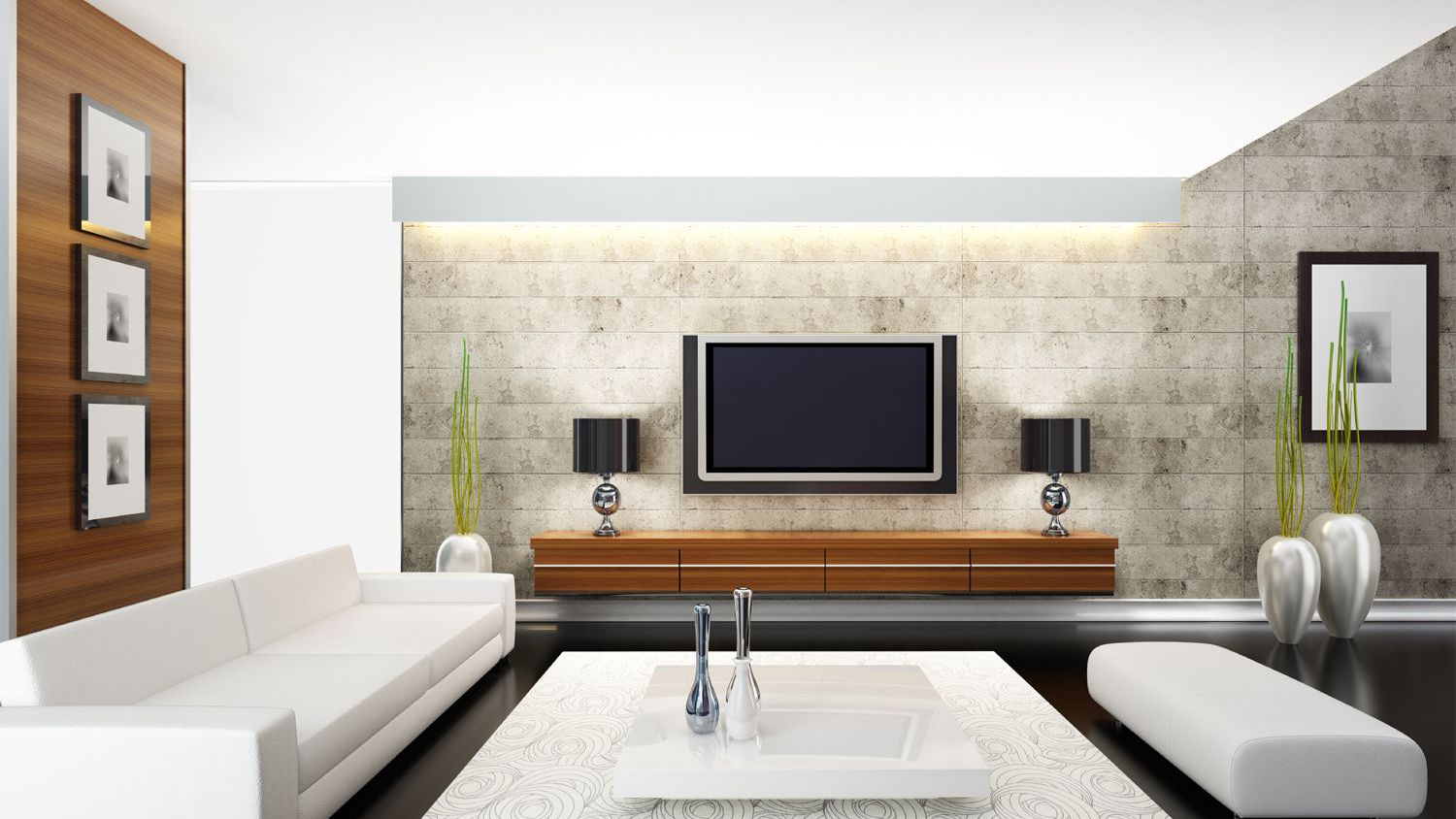 Image of: How Room Lighting Affects Tv Viewing