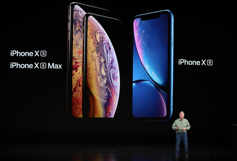 iPhone XS and XR introduction