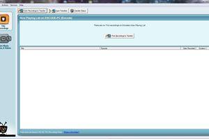 The main screen of TiVo Desktop