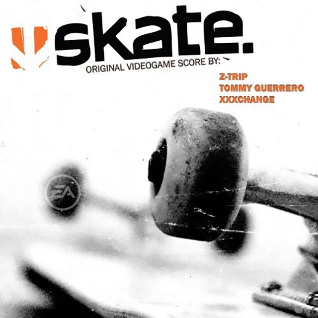 The cover of Skate's videogame score