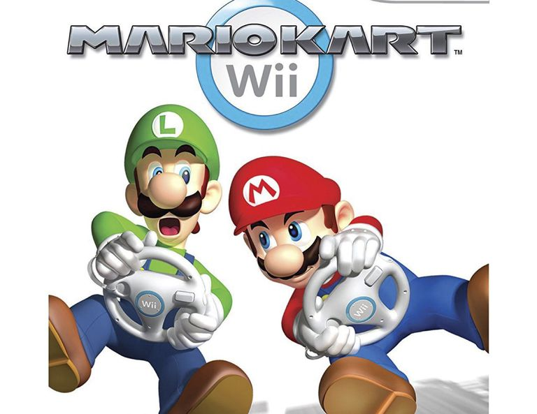 Mariokart for Wii gamecover
