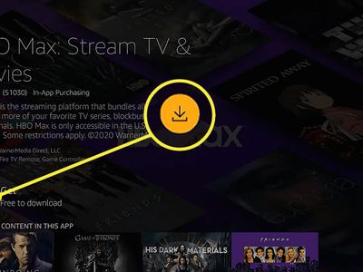 The Get option on HBO Max for Amazon Firestick.