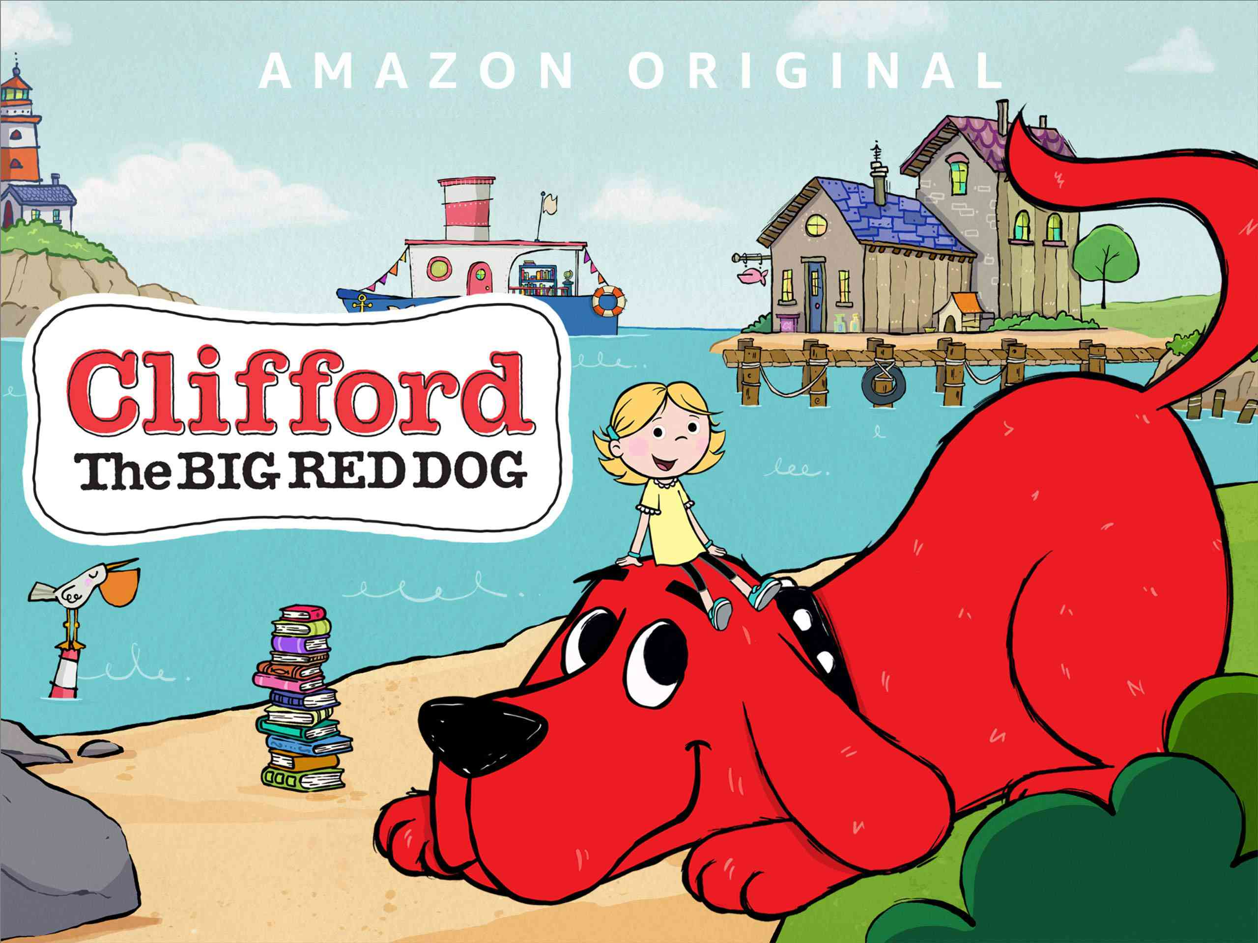 Clifford in Clifford the Big Red Dog on Amazon Prime Video
