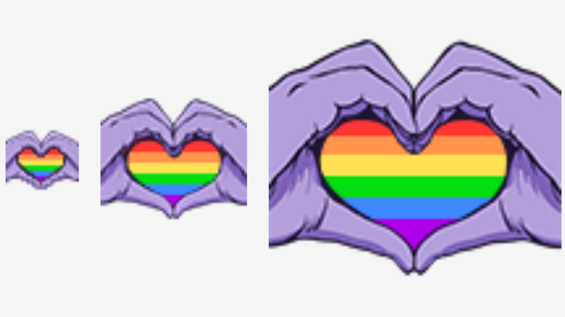 Twitch GayPride Emote