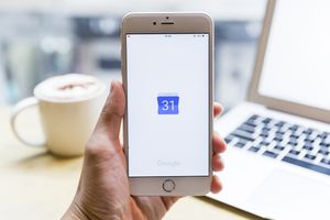 Google Calendar icon on iPhone