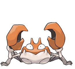 Krabby - Ken Sugimori's Official Artwork