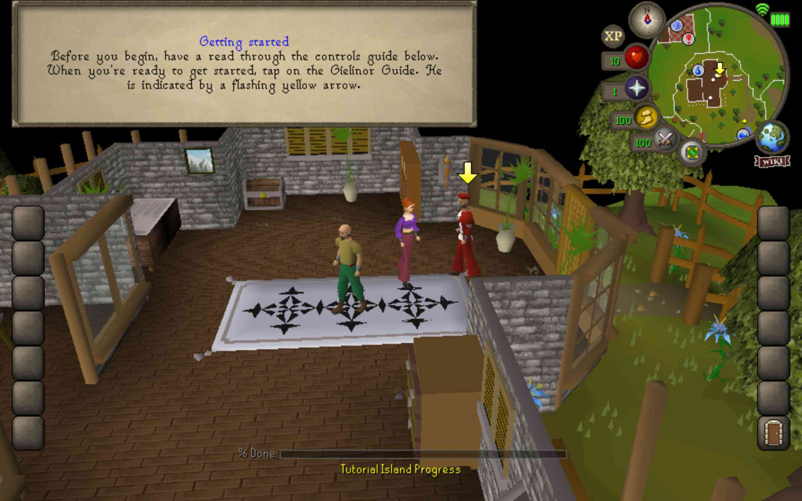 Screenshot of Old School RuneScape for Android