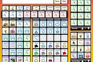I Can Speak is an easy-to-use AAC app designed to meet most of the communications needs of those unable to speak.