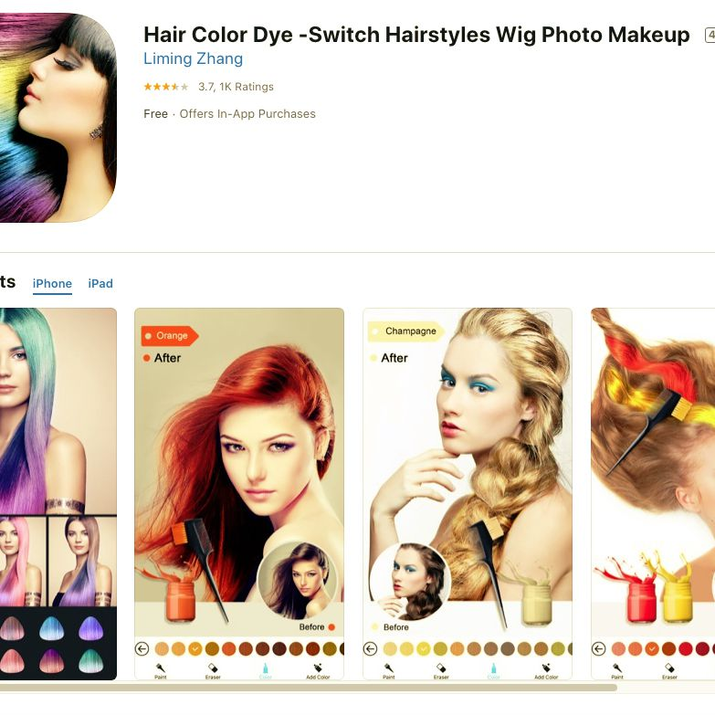 check out hairstyles on yourself for free